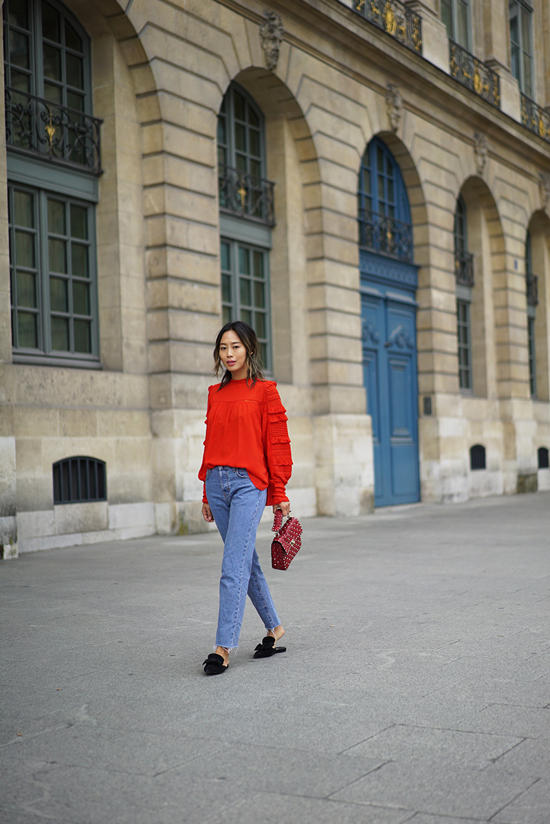 aimee_song_of_style_paris_fashion_week_isabel_marant_top_citizens_of_humanity_jeans_prada_flats_valentino_bag